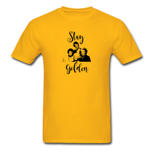 Stay Golden Tee - gold
