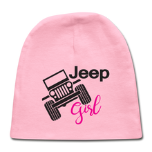 Jeep Girl Baby Cap - light pink