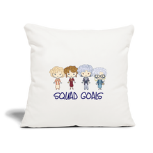 Squad Goals Golden Girls Pillow - natural white