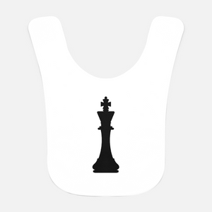 Black King Baby Bib