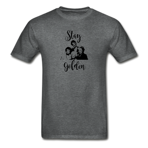 Stay Golden Tee - deep heather