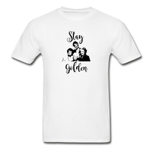 Stay Golden Tee - white