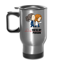 Grey's Anatomy You're My Person Coffee Travel Mug - silver