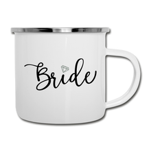 Bride Diamond Camper Mug - white