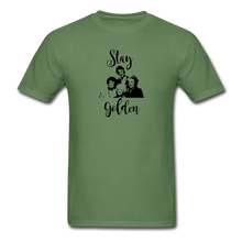 Stay Golden Tee - military green