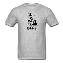 Stay Golden Tee - heather gray