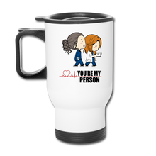 Grey's Anatomy You're My Person Coffee Travel Mug - white