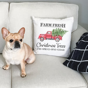 Farm Fresh | Pillow Case | Christmas Tree