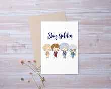 Stay Golden | Friends | BFF | Greeting Card | Gift