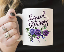 Liquid Therapy Floral | Coffee Mug | Flowers