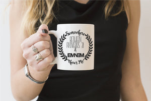 Somewhere Between Proverbs 31 and Eminem Theres Me | Coffee Mug