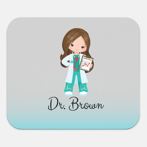 Custom Name | Mouse Pad | Doctors | Personalize | Nurse