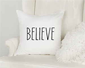 Dream Believe | Pillow Case | 15 x 15 |