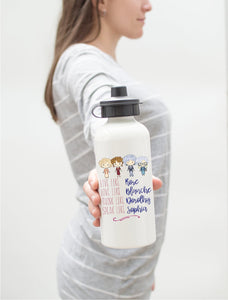 Live Like Golden | Aluminum Water Bottle | Girls