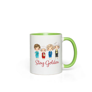 Stay Golden Girls Accent Color Mug