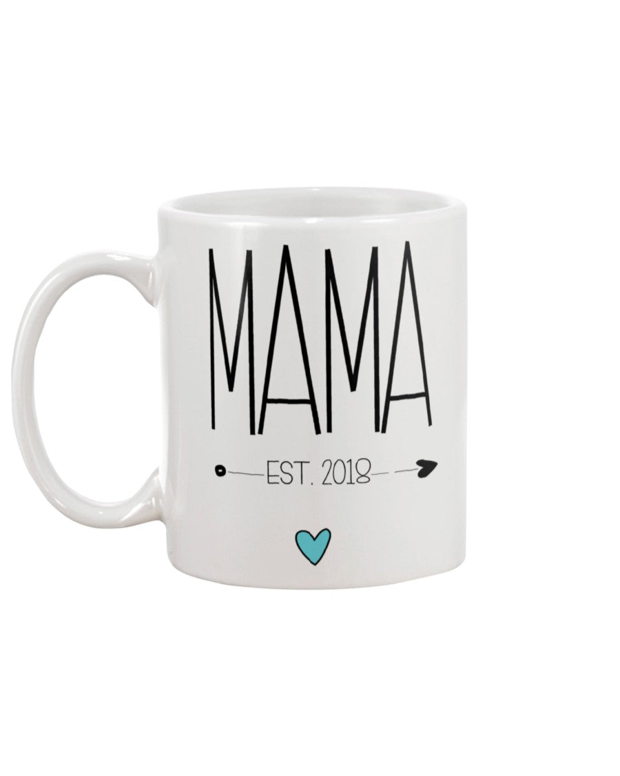 Mama Est Mug Mom Mother Coffee