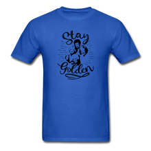 Stay Golden Tee T Shirt - royal blue