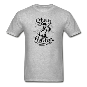 Stay Golden Tee T Shirt - heather gray