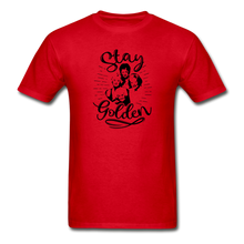 Stay Golden Tee T Shirt - red