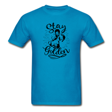 Stay Golden Tee T Shirt - turquoise