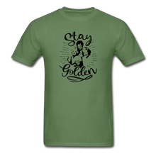Stay Golden Tee T Shirt - military green