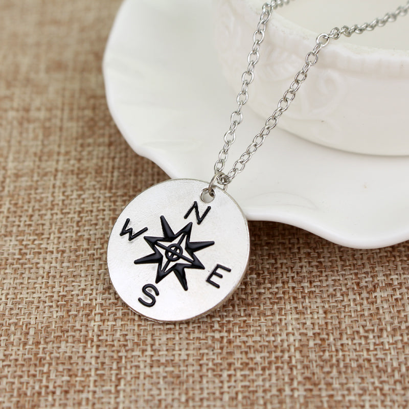Wanderlust Directions Necklace