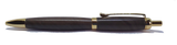 Ballpoint click pen handmade in Black Walnut freeshipping - DevonPens