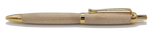 Ballpoint click pen in Sycamore wood from Saltram House Plymouth freeshipping - DevonPens