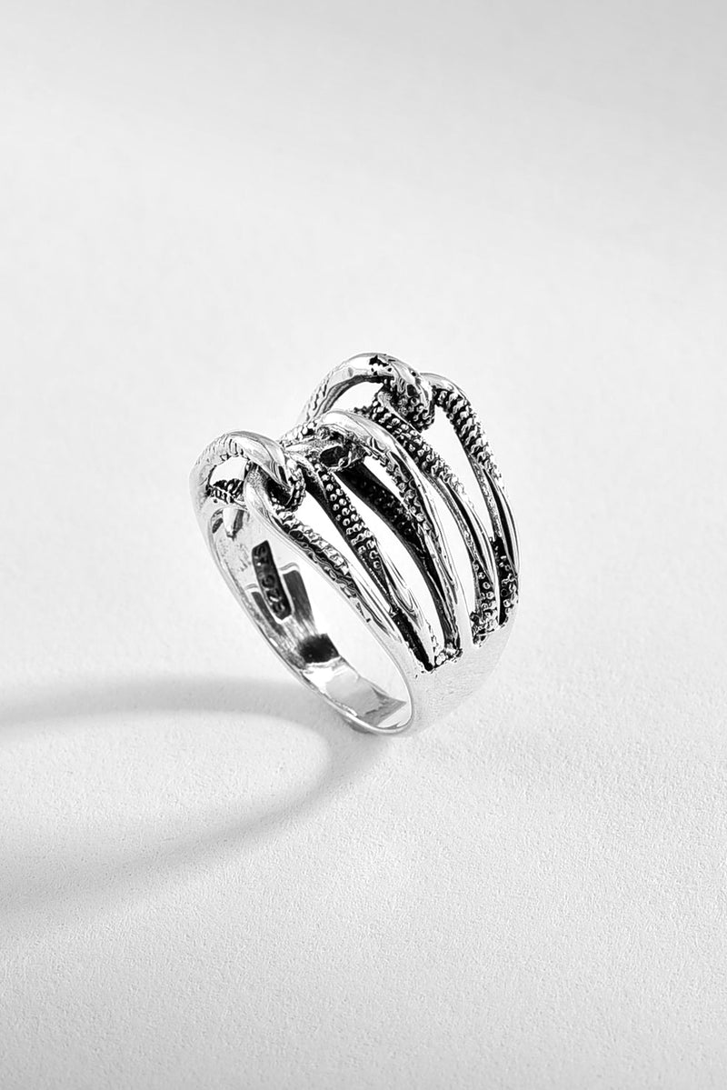 Tangled Sterling Silver Ring