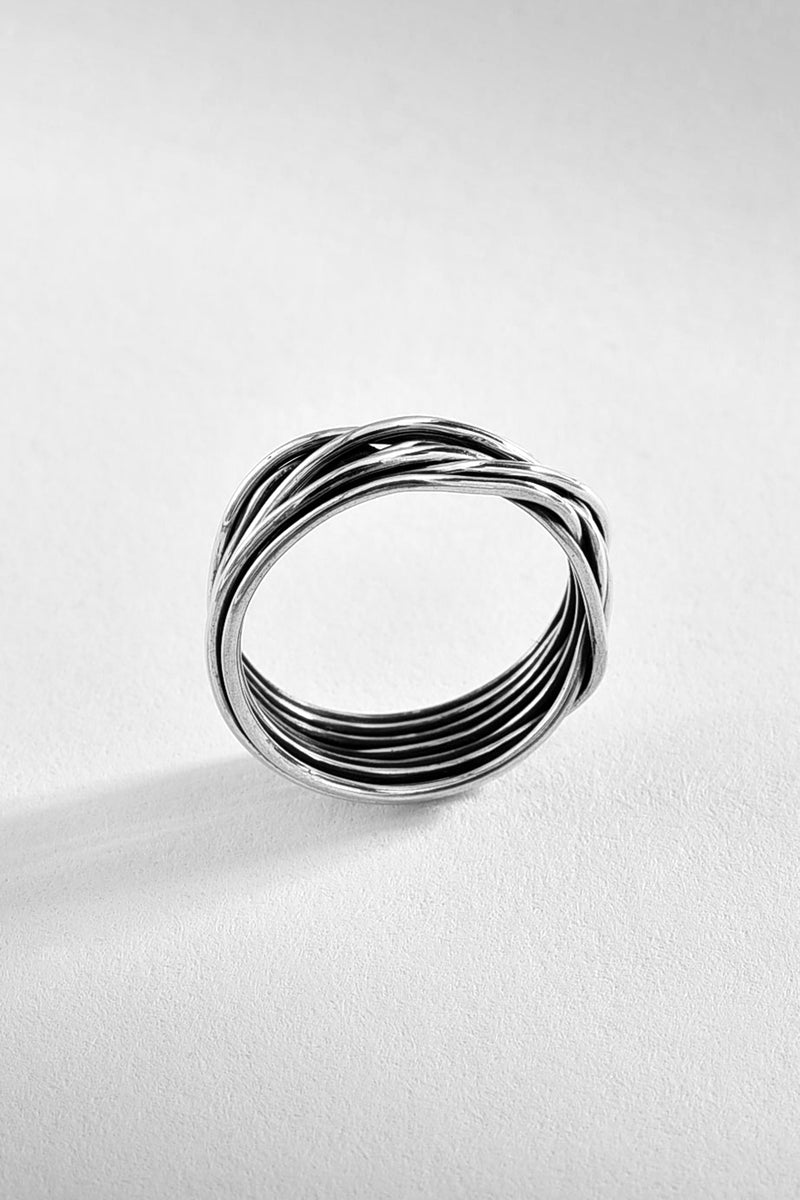 Sterling Wire Silver Ring