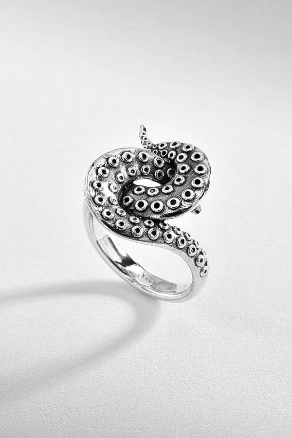 Octopus Silver Ring