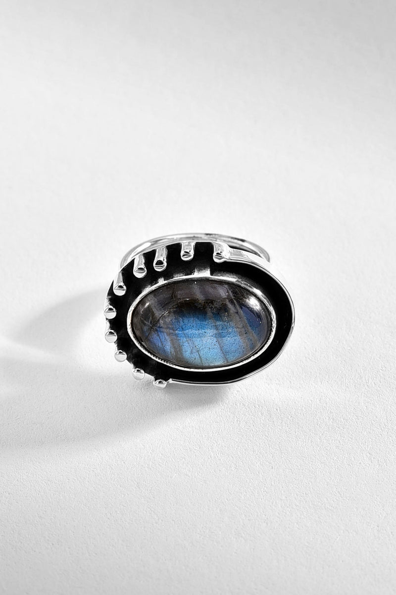 Labradorite Sterling Silver Ring