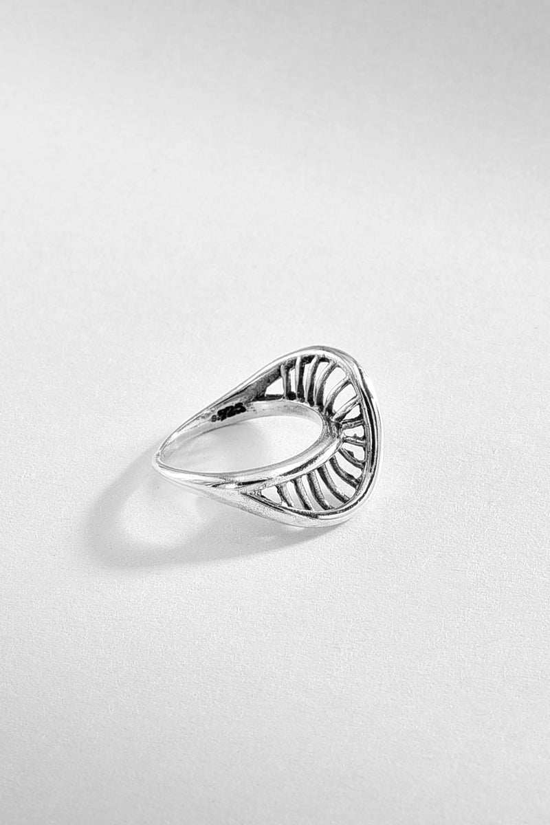 Helix Sterling Silver Ring