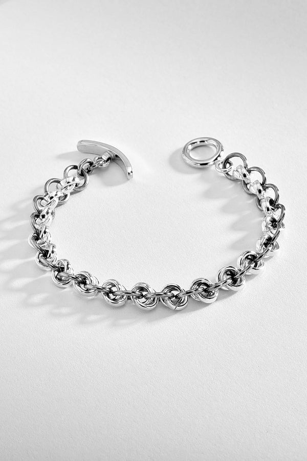 Linked Hoops Bracelet