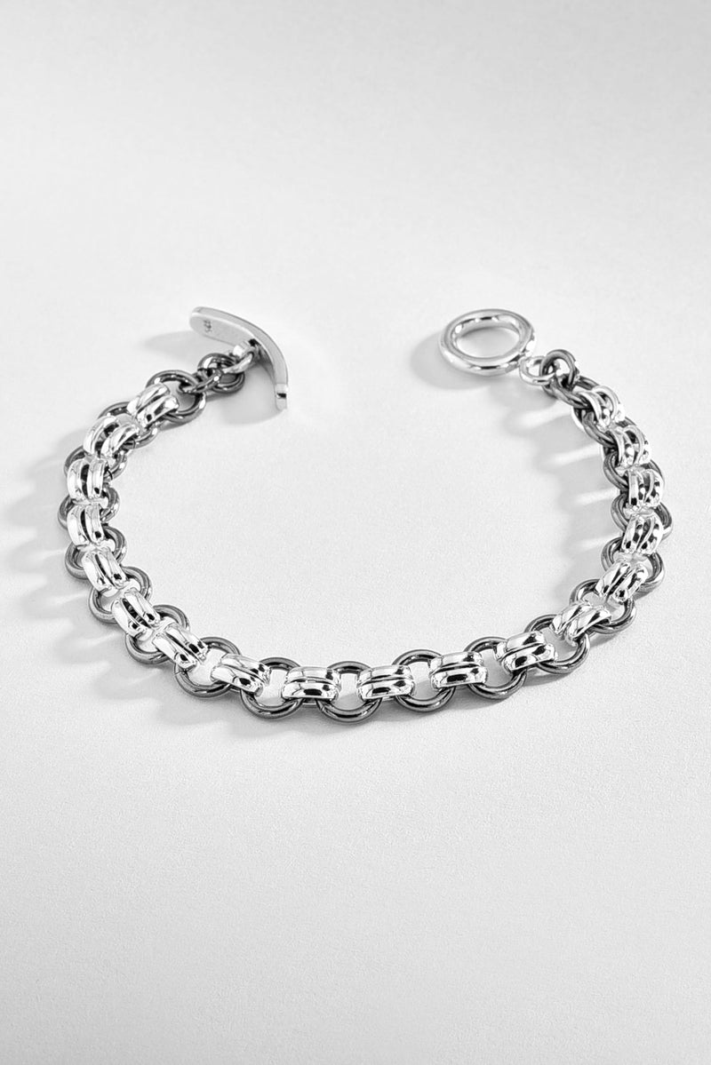 Double Linked Loops Bracelet