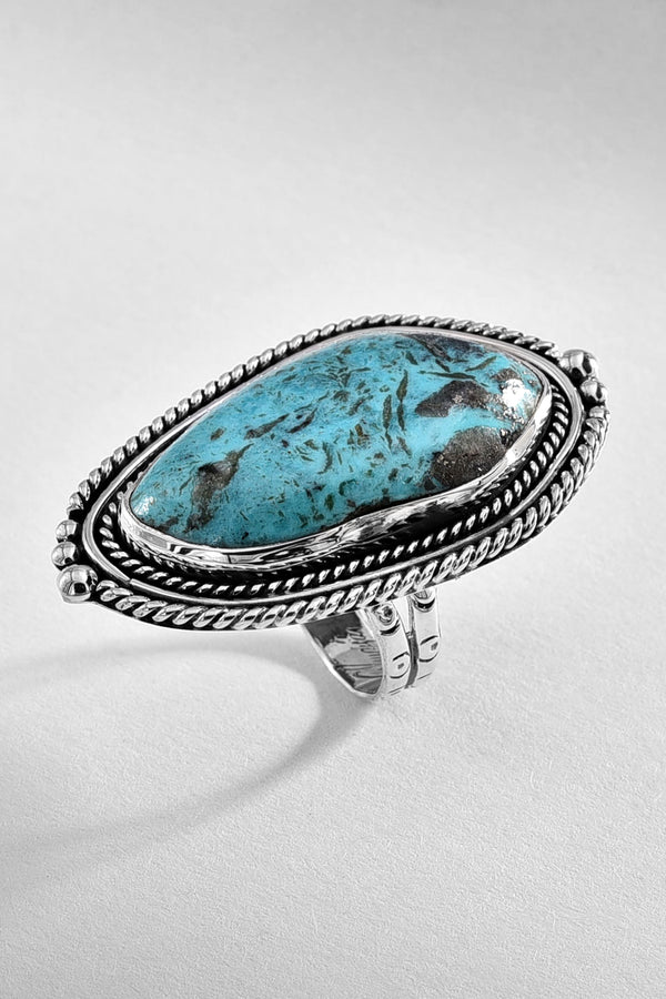 Vintage Inspired Turquoise Ring