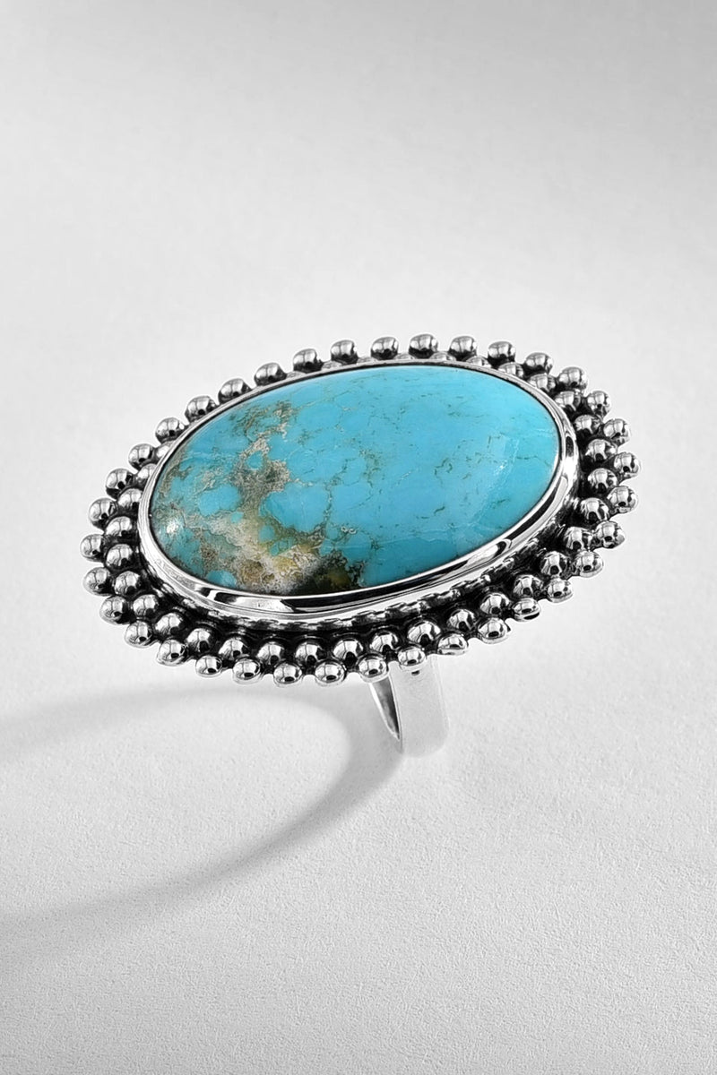 Oval Turquoise Vintage Ring