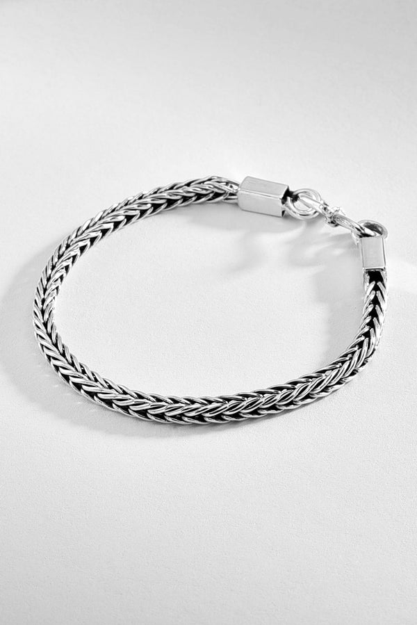Timeless Mexican Sterling Silver Bracelet