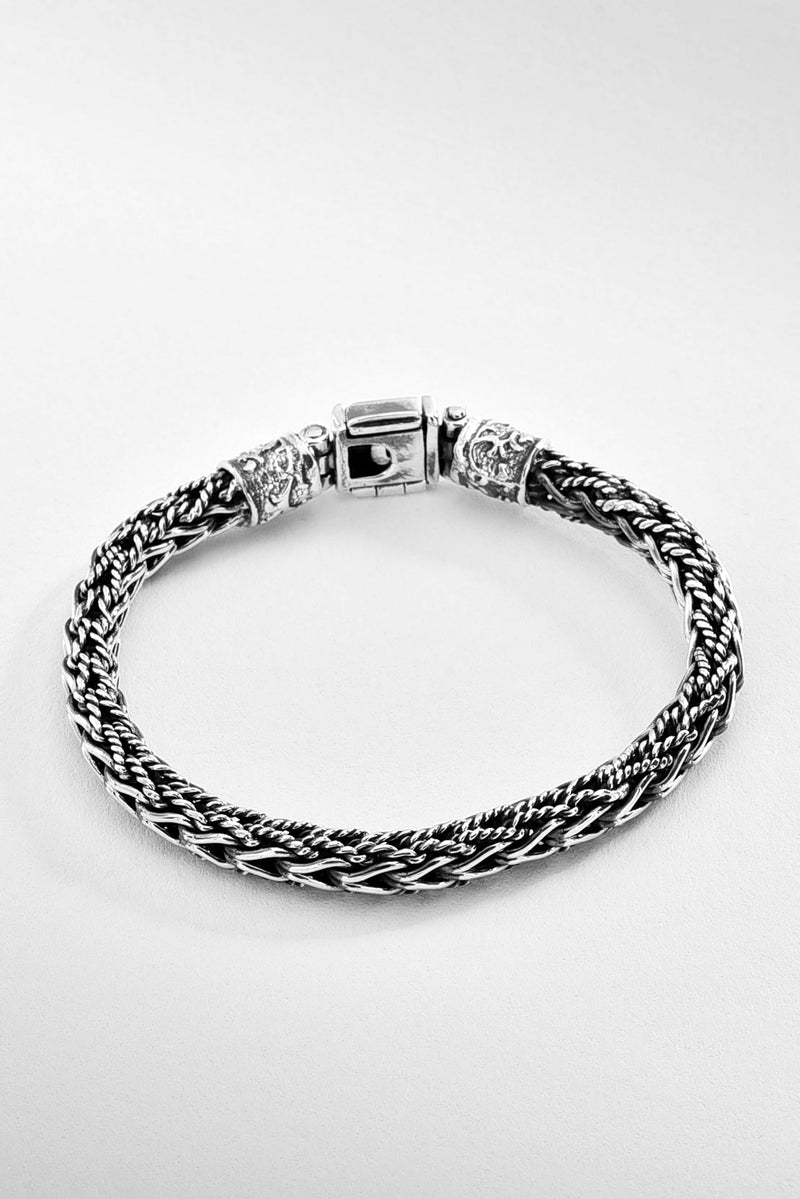 Traditional Silver Mexican Bracelet
