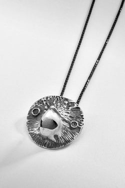 Eagle Sterling Silver Pendant Necklace