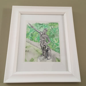 Vulcan - Original - unframed