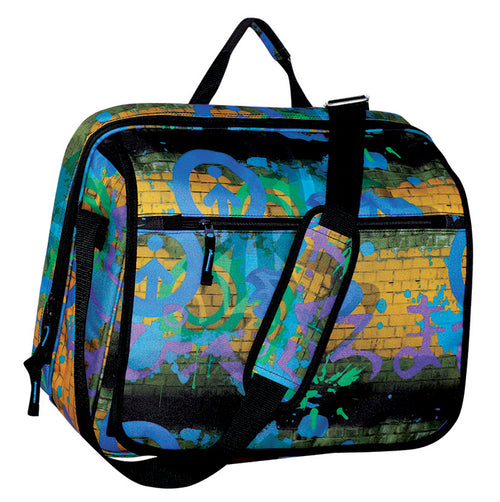 FIB Graffiti Laptop Messenger Bag