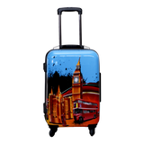 Set of 3 London Design Trolley Cases