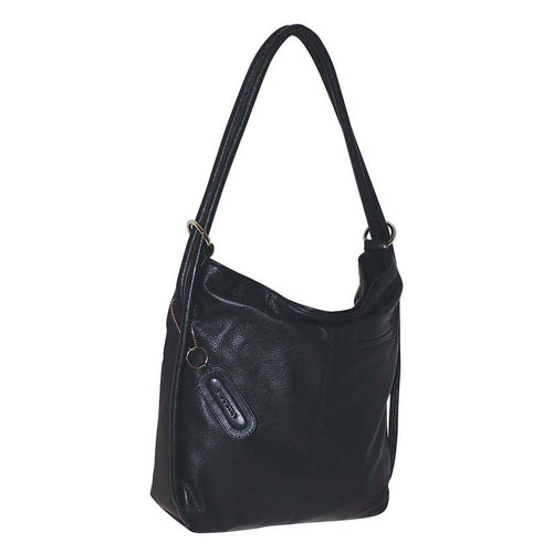 Futura Leather Convertible Handbag / Backpack