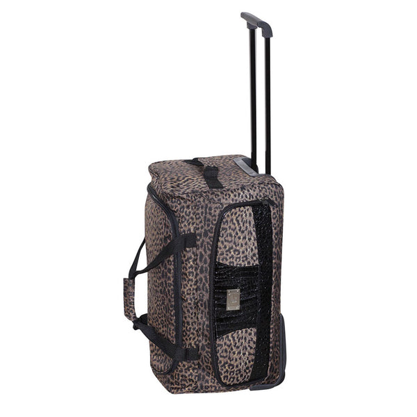 Giannotti Leopard Design Bag on Wheels