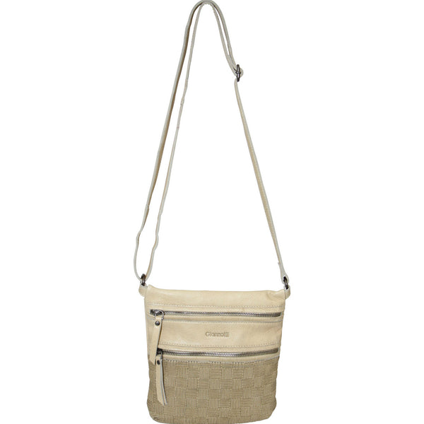 Giannotti Leather Embossed Sling Bag