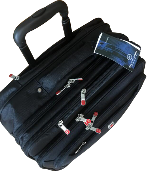 "Futura 16"" Trolley Briefcase Mobile Office"