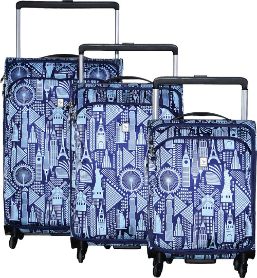 Kitelite Set of 3 Trolley Cases