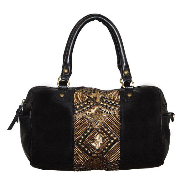 Giannotti Embellished Barrel Bag