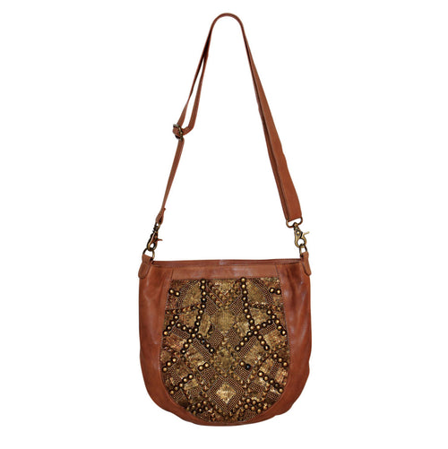 Giannotti Leather Embellished Ladies Bag